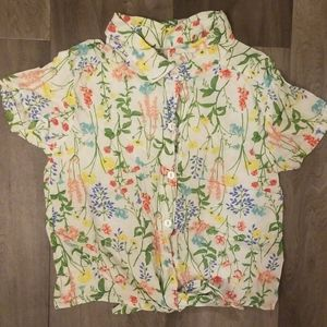 Floral top!